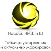 Маркировка насосов НМШ и ШСЛЭМЗ логотип
