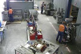 Производственный цех насосов НМШ