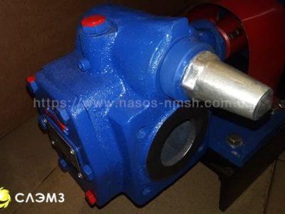 Насос НМШ 5-25-4,0/4 с двигателем — шестеренный масляный