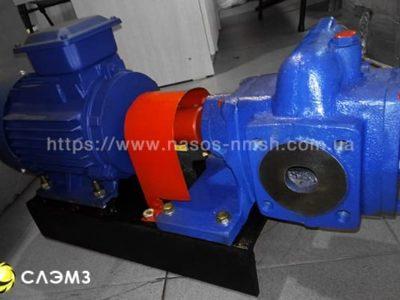 Шестеренный насос НМШ 5-25-2.5/6 с двигателем