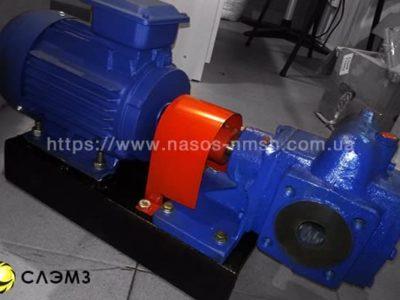Шестеренный насос НМШ 5-25-4.0/25 с двигателем