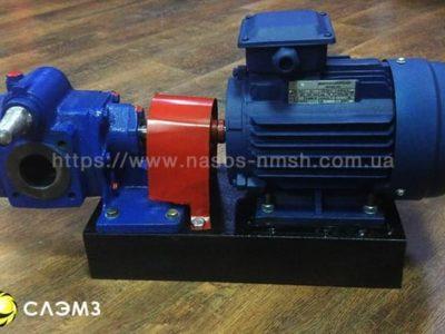 Шестеренный насос НМШ 5-25-4.0/10 с двигателем