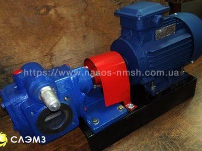 Насос НМШ 5-25-4,0/25 с двигателем — шестеренный масляный