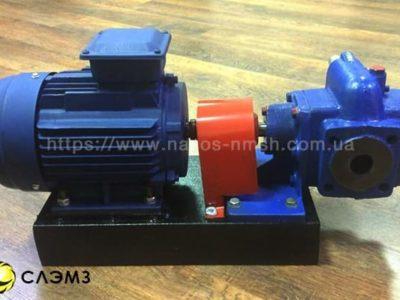 Шестеренный насос НМШ 5-25-4.0/4 с двигателем