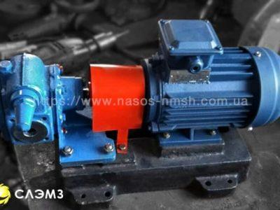 Шестеренный насос НМШ 2-25-1.6/16 с двигателем